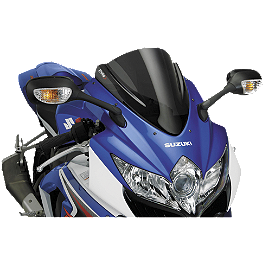 Puig Z Racing Windscreen - Dark Smoke - 2009 Suzuki GSX-R 1000 Puig Z Racing Windscreen - Clear