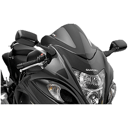 Puig Z Racing Windscreen - Dark Smoke - 2011 Suzuki GSX1300R - Hayabusa Puig Z Racing Windscreen - Clear