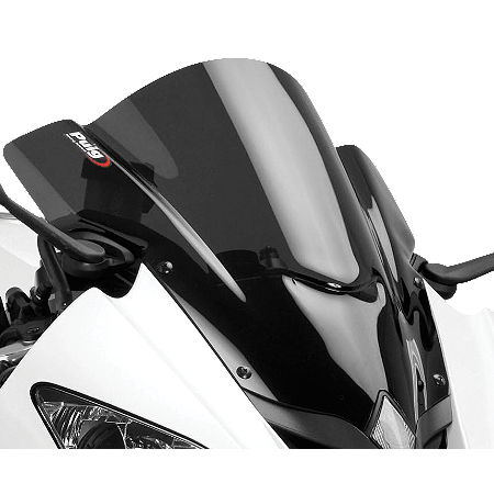 Puig Z Racing Windscreen - Dark Smoke - Main