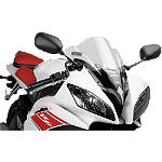 Puig Z Racing Windscreen - Clear - Yamaha Motorcycle Windscreens and Accessories