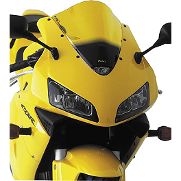 Puig Z Racing Windscreen - Yellow - 2008 Suzuki GSX-R 750 Puig Z Racing Windscreen - Dark Smoke
