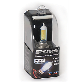 Putco Premium Halogen Bulb H7 - Single - PIAA H7 Extreme White Bulb With 2-Prong Base - 55W