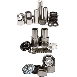 Pivot Works Swing Arm / Shock / Linkage Bearing Combo - Pivot Works Steering Stem Bearing Kit