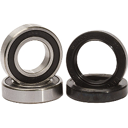 Pivot Works Front Wheel Bearing Kit - 2008 Can-Am OUTLANDER 400 Quad Works Standard Seat Cover - Black