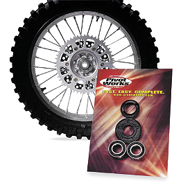 Pivot Works Front Wheel Bearing Kit - 2002 Honda CR125 Pivot Works Fork Seal & Bushing Kit