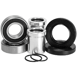 Pivot Works Front Wheel Bearing And Collar Kit - 2004 Suzuki RM125 Pivot Works Swing Arm / Shock / Linkage Bearing Combo