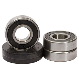 Pivot Works Rear Wheel Bearing Kit - 2006 Suzuki RM125 Pivot Works Swing Arm / Shock / Linkage Bearing Combo