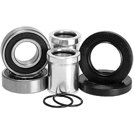 Pivot Works Rear Wheel Bearing And Collar Kit - 1996 Kawasaki KX125 Pivot Works Shock Bearing Kit