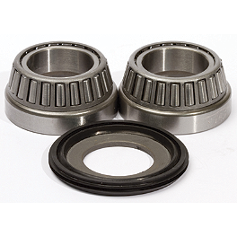 Pivot Works Steering Stem Bearing Kit - 2002 Kawasaki KX500 Pivot Works Fork Seal & Bushing Kit