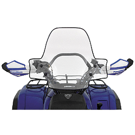 PowerMadd Universal ATV Sport Windshield With Quick Release - PowerMadd Universal 7/8