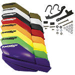 PowerMadd Trail Star Handguard Combo -  Motocross Hand Guards for Dirt Bikes