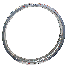 "Pro Wheel Rear Rim - 18"" Silver - 2010 Honda CRF450R Pro Wheel Rim & Spoke Combo"