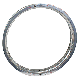 "Pro Wheel Rim Rear - 18X2.15"" Silver - 2000 KTM 400MXC Pro Wheel Rim & Spoke Combo"
