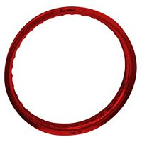 "Pro Wheel Rear Rim - 19"" Red"