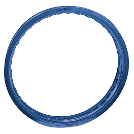 "Pro Wheel Rim Rear - 19"" Blue - 2008 Yamaha YZ450F Excel Rear Rim - 19"