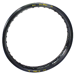 "Pro Wheel Front Rim - 21"" Black - Excel Rear Rim - 18"