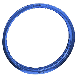 "Pro Wheel Front Rim - 21"" Blue - 1998 KTM 125SX Excel Rear Rim - 19"