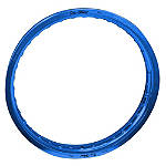 "Pro Wheel Front Rim - 21"" Blue - Suzuki RM125 Dirt Bike Rims and Spokes"