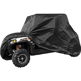 Quadboss UTV 4-Seater Cover - Blingstar Suicide Doors - Textured Black
