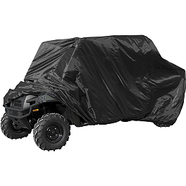 Quadboss UTV 4XL Cover - Quadboss Mesh Rack Front Universal
