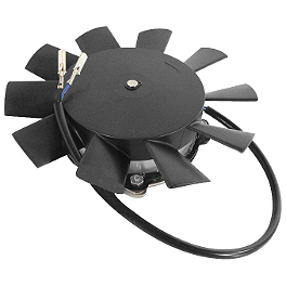 Quadboss High Performance Radiator Cooling Fan - 2000 Polaris SCRAMBLER 400 4X4 Quadboss 1.5
