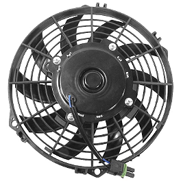 Quadboss OEM Replacement Radiator Cooling Fan - 2002 Polaris SCRAMBLER 400 2X4 Quadboss 1.5