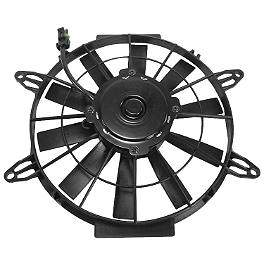 Quadboss OEM Replacement Radiator Cooling Fan - 2010 Polaris SPORTSMAN 500 H.O. 4X4 Quadboss Fender Protectors - Wrinkle