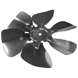 Quadboss Replacement Radiator Fan Only - 2008 Polaris OUTLAW 525 S Quadboss 1.5