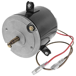 Quadboss Replacement Radiator Fan Motor Only - 1999 Polaris SCRAMBLER 400 4X4 Quadboss 1.5