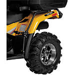Quadboss Fender Protectors - Wrinkle - Utility ATV Body Parts and Accessories
