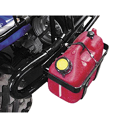 Quadboss 2 Gallon Gas Can Carrier - Quadboss Rear Wrap Trunk