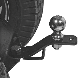 Quadboss 3-Way Hitch Adapter - 2009 Kawasaki BRUTE FORCE 650 4X4 (SOLID REAR AXLE) Quadboss Tie Rod End Kit