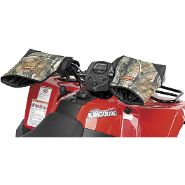 Quadboss ATV Hand Mitts - 2010 Kawasaki BRUTE FORCE 650 4X4 (SOLID REAR AXLE) Quadboss Lift Kit