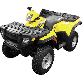 Quadboss Overfenders - 2007 Polaris SPORTSMAN 800 EFI 4X4 Quadboss Fender Protectors - Wrinkle