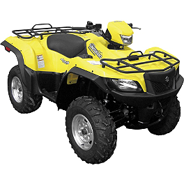 Quadboss Overfenders - 2007 Suzuki KING QUAD 700 4X4 Quadboss Fender Protectors - Wrinkle