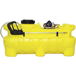 Quadboss 25 Gallon Sprayer - Quadboss Rear Rest Trunk