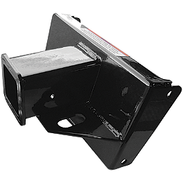 Quadboss Trailer Hitch Receiver - 2008 Suzuki KING QUAD 450AXi 4X4 Warn Winch Mounting System