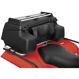 Quadboss Back Country Trunk With Rails - Quadboss Rear Rack Lounger