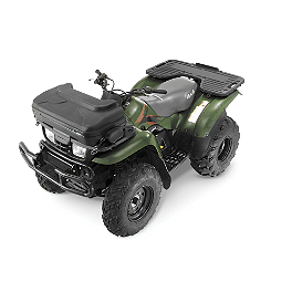 Quadboss Front Trunk - 2006 Kawasaki BRUTE FORCE 650 4X4 (SOLID REAR AXLE) Quadboss Fender Protectors - Wrinkle