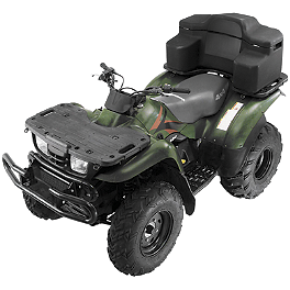 Quadboss Rear Rest Trunk - 2011 Arctic Cat 1000 TRV CRUSIER Quadboss Fender Protectors - Wrinkle
