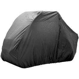 Quadboss Side X Side Cover Black - Quadboss UTV 4-Seater Cover