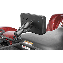 RAM Mounts ATV Backrest - Moose Executive Trunk Replacement Compartment - Black