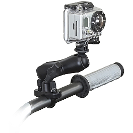 RAM Mounts GoPro Hero Adapter With U-Bolt Mount - RAM Mounts Chrome Handlebar Base 1