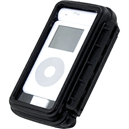 RAM Mounts Universal Medium Aqua Box Holder - Cycle Sounds iPOD Motorcycle Holder - iPOD Touch Generations 1-3