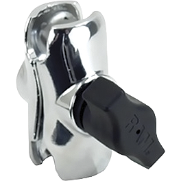 "RAM Mounts Short Chrome Double Socket Arm For 1"" Ball Bases - RAM Mounts Stem Mount 2.47 X 2.47 X 1"