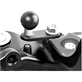 RAM Mounts Single Hole Base With Ball - RAM Mounts Reservoir Cover Center Ball