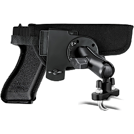 RAM Mounts Hand Gun Holster Handlebar Mount - RAM Mounts U-Bolt With Double Socket Arm