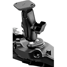 RAM Mounts Stem Mount 2.47 X 2.47 X 1 - Cycle Sounds iPOD Motorcycle Holder - iPOD Touch Generations 1-3