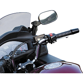 RAM Mounts Side Reservoir Mount With Diamond Base - RAM Mounts M8 Handlebar Base With Diamond
