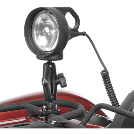 RAM Mounts Spotlight With Mount & U-Bolt Base - RAM Mounts Brake/Clutch Master Cylinder Reservoir U-Bolt Spotlight